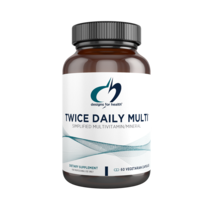 Twice Daily Multi™ 60 vegetarian capsules